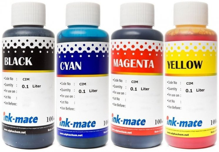 Набор чернил Ink-Mate CIM-04/41 Mult 4x100ml для Canon (CIM41NB4W100)