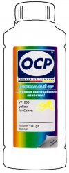 Желтые чернила OCP YP230 (Yellow) 100ml для Canon