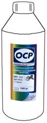 Серые чернила OCP BKP113 (Pigment Light Black) 1000 ml для Epson