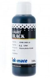 Серые чернила Ink-Mate EIM-2400LA (Pigment Light Black) 100 ml для Epson (EIM2400LAW100)