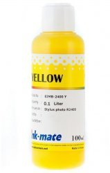 Желтые чернила Ink-Mate EIM-2400Y (Pigment Yellow) 100 ml для Epson (EIM2400YW100)