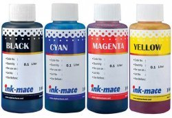 Набор чернил Ink-Mate HIM-960 Mult 4x100ml для HP (HIM960NB4W100)