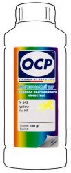 Желтые чернила OCP Y143 (Yellow) 100ml для HP