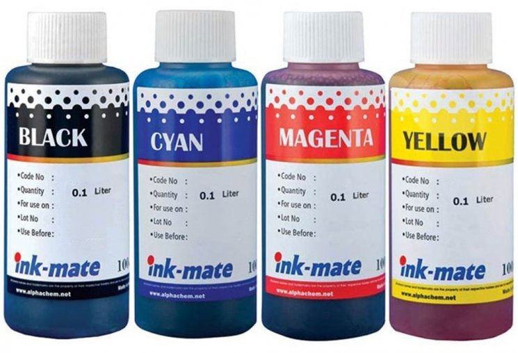 Набор чернил Ink-Mate HIM-550 Mult 4x100ml для HP (HIM550NB4W100)