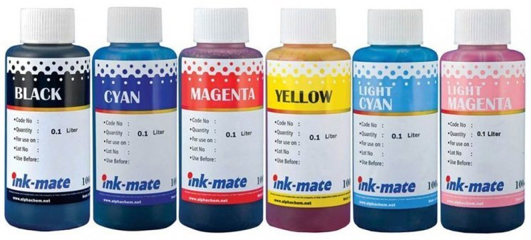 Набор чернил Ink-Mate HIM-311 Mult (Dye) 6x100ml для HP (HIM311NB6W100)