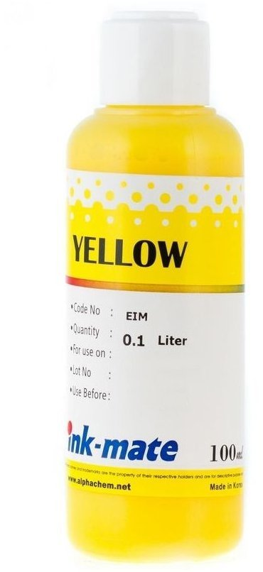 Желтые чернила Ink-Mate EIM-188Y (Pigment Yellow) 100 ml для Epson (EIM188YW100)