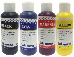Набор чернил Ink-Mate HIM-971 Mult 4x100ml для HP (HIM971NB4W100)