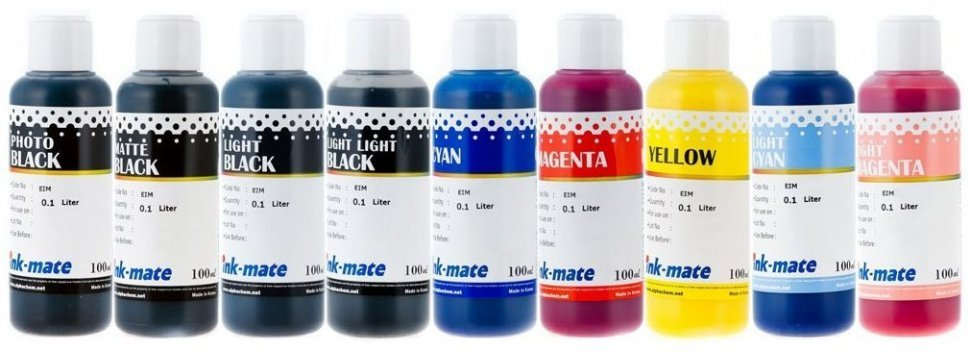 Набор чернил Ink-Mate EIM-188 Mult (Pigment) 9x100 ml для Epson (EIM188NB9W100)