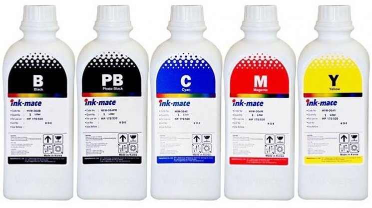 Набор чернил Ink-Mate HIM-364 Mult 4x1000ml для HP (HIM364NB4W1000) в Барановичах