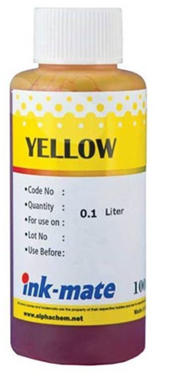 Желтые чернила Ink-Mate HIM-941Y (Dye Yellow) 100ml для HP (HIM941YW100)