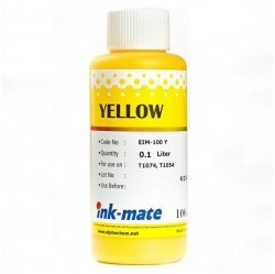 Желтые чернила Ink-Mate EIM-100Y (Pigment Yellow) 100 ml для Epson (EIM100YW100)