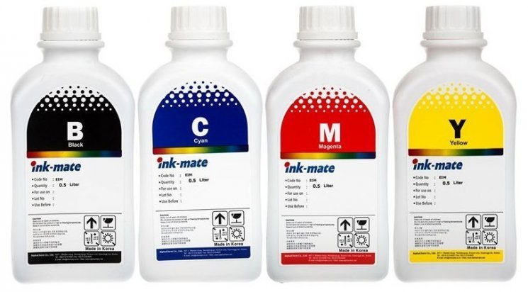 Набор чернил Ink-Mate EIM-100 Mult (Pigment) 4x500 ml для Epson (EIM100NB4W500)