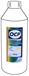 Желтые чернила OCP Y122 (Yellow) 1000ml для Canon
