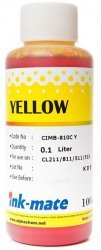 Желтые чернила Ink-Mate CIM-810Y (Dye Yellow) 100ml для Canon (CIM810YW100)