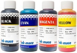 Набор чернил Ink-Mate CIM-810 Mult 4x100ml для Canon (CIM810NB4W100)