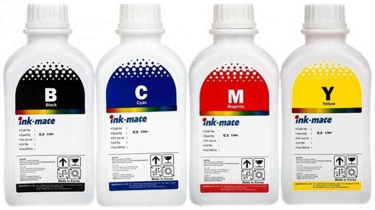 Набор чернил Ink-Mate HIM-900 Mult 4x500ml для HP (HIM900NB4W500)