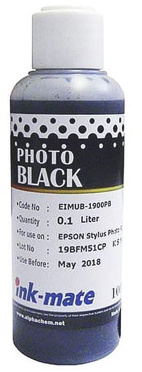 Фото-черные чернила Ink-Mate EIM-1900PA (Pigment Photo Black) 100 ml для Epson (EIM1900PAW100)