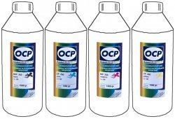 Набор чернил OCP BKP260 / CP260 / MP260 / YP260 Mult 4x1000ml для HP
