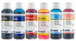 Набор чернил Ink-Mate EIM-290 Mult (Dye) 6x100 ml для Epson (EIM290NB6W100)