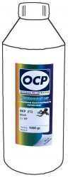Черные чернила OCP BKP272 (Pigment Black) 1000 ml для HP