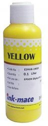 Желтые чернила Ink-Mate EIM-1900Y (Pigment Yellow) 100 ml для Epson (EIM1900YW100)