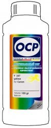 Желтые чернила OCP Y167 (Yellow) 100ml для Canon